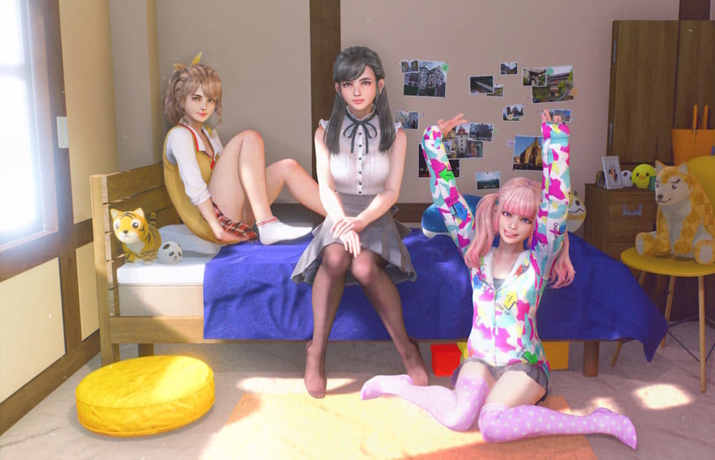 え、この女の子たち、想像と別方向で個性が豊かなのだが!?
