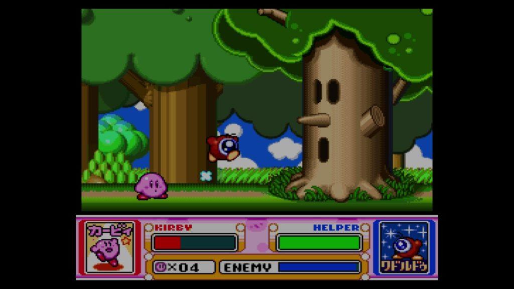 星のカービィ スーパーデラックス(1996年3月21日/ACT/任天堂) (※画像はWiiUバーチャルコンソール版です。任天堂ホームページより)